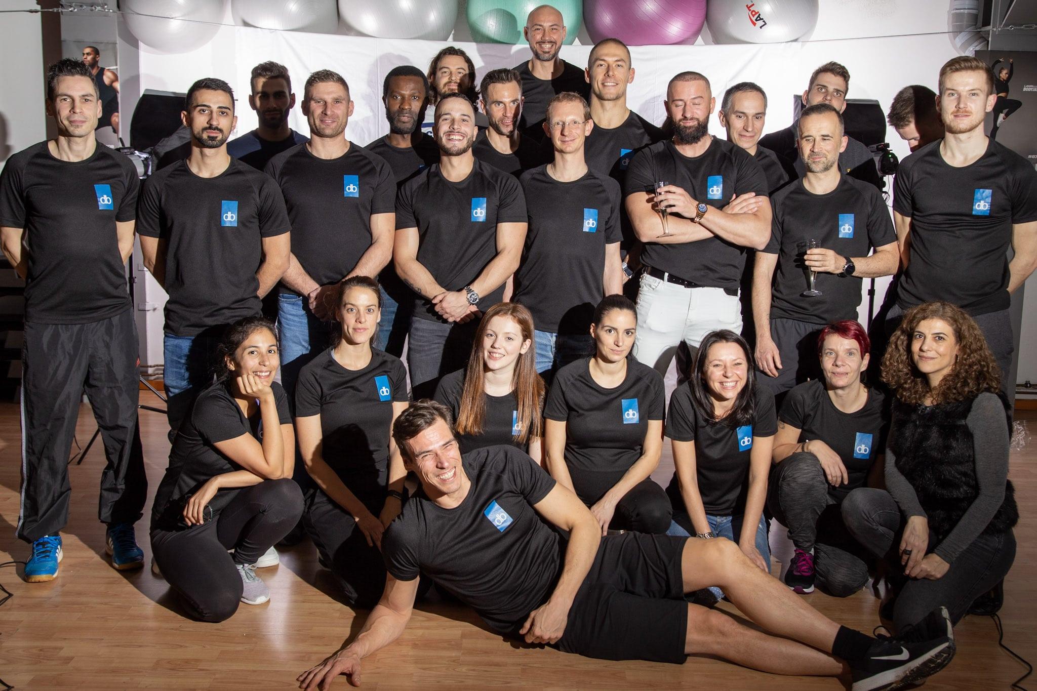 Les nouveaux diplômés de la Fitness Academy (Session de Sept. à Dec. 2019)